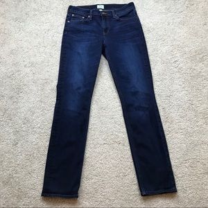J Crew Matchstick Jeans Racerbrook Wash E5863 B658